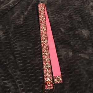 Handmade belt from Annapolis maker